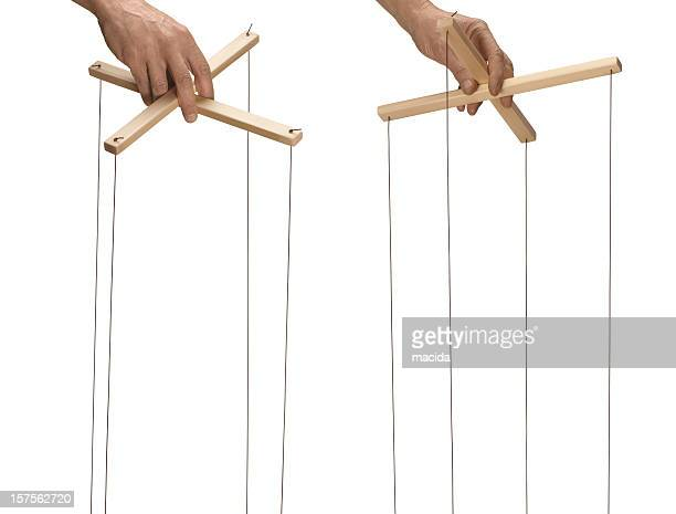 marionette control bar - puppet stock pictures, royalty-free photos & images