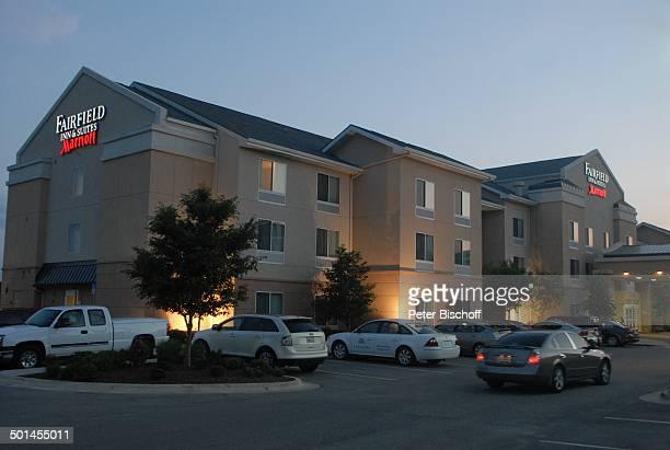 Mariott Fairfield Inn Suiteshotel Bei Dämmerung Bricktown Oklahoma City Staat Great Plains Usa Nordamerika Amerika