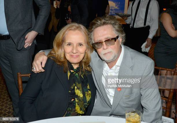 Maripol and Jan Frank attend The Turtle Conservancy's 4th Annual Turtle Ball at The Bowery Hotel on April 17 2017 in New York City