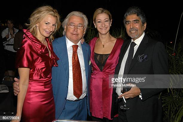 Marisa Acocella Marchetto Silvano Marchetto Paula Froelich and Sonny Mehta attend GLAMOUR hosts Marisa Acocella Marchetto's CANCER VIXEN Book Party...
