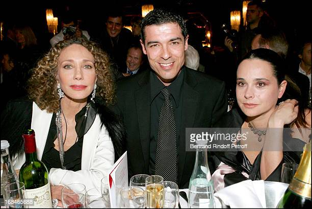 Marisa Berenson Alessandro Gassman and guest at Dalida TV Film Tribute To The Singer