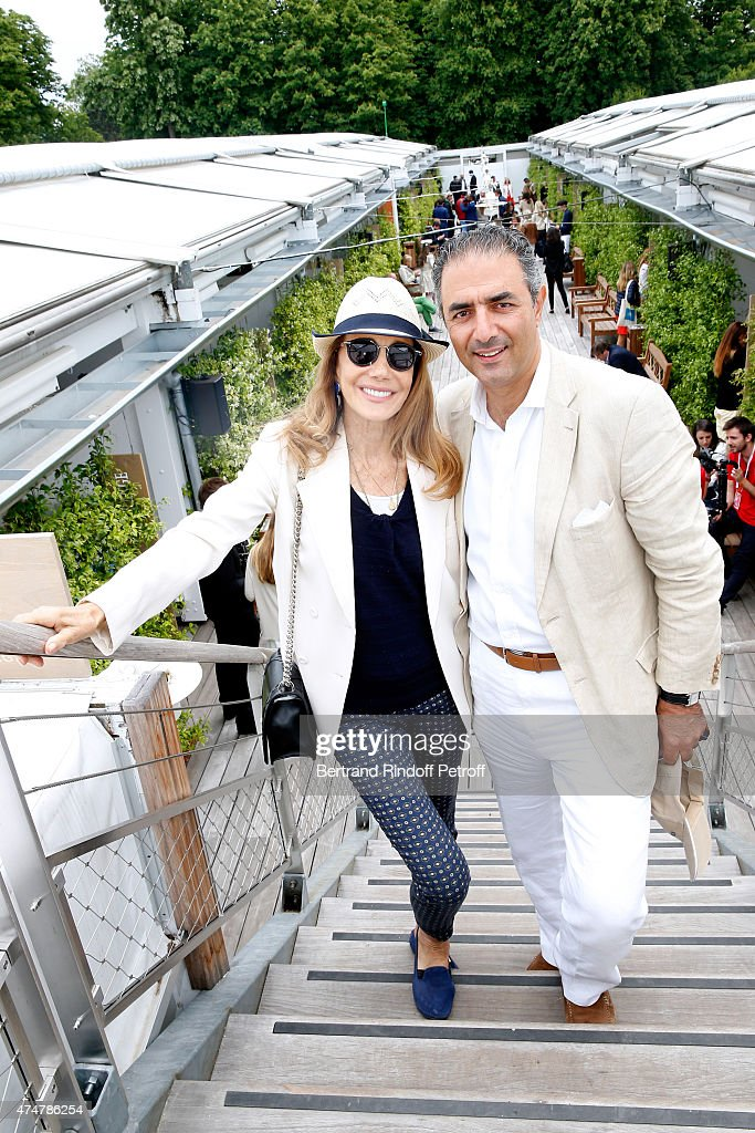 Celebrities At French Open 2015  - Day Three