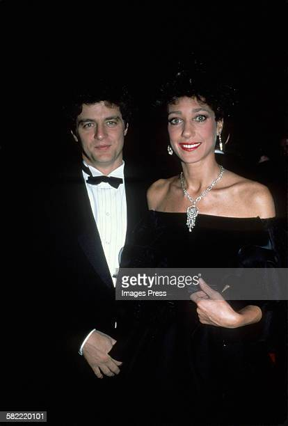 Marisa Berenson and husband Aaron Richard Golub circa 1982 in New York City.