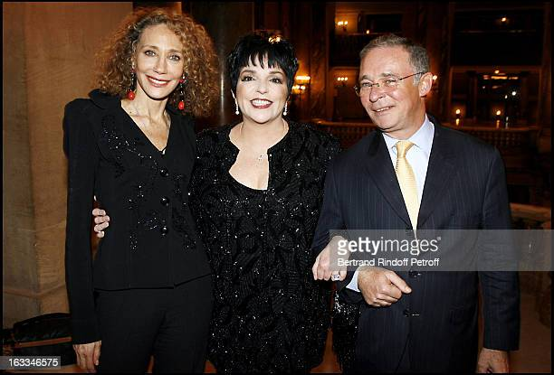 Marisa Berenson and Le Comte Philippe De Nicolay at the Liza Minnelli Concert At Palais Garnier In Paris In Aid Of AIDS Charities Care And Sidaction