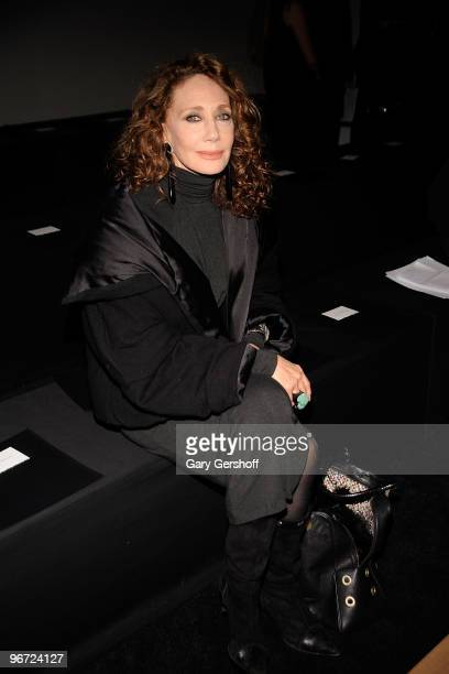 Marisa Berenson attends Donna Karan Collection Fall 2010 during MercedesBenz Fashion Week at 711 Greenwich Street on February 15 2010 in New York City