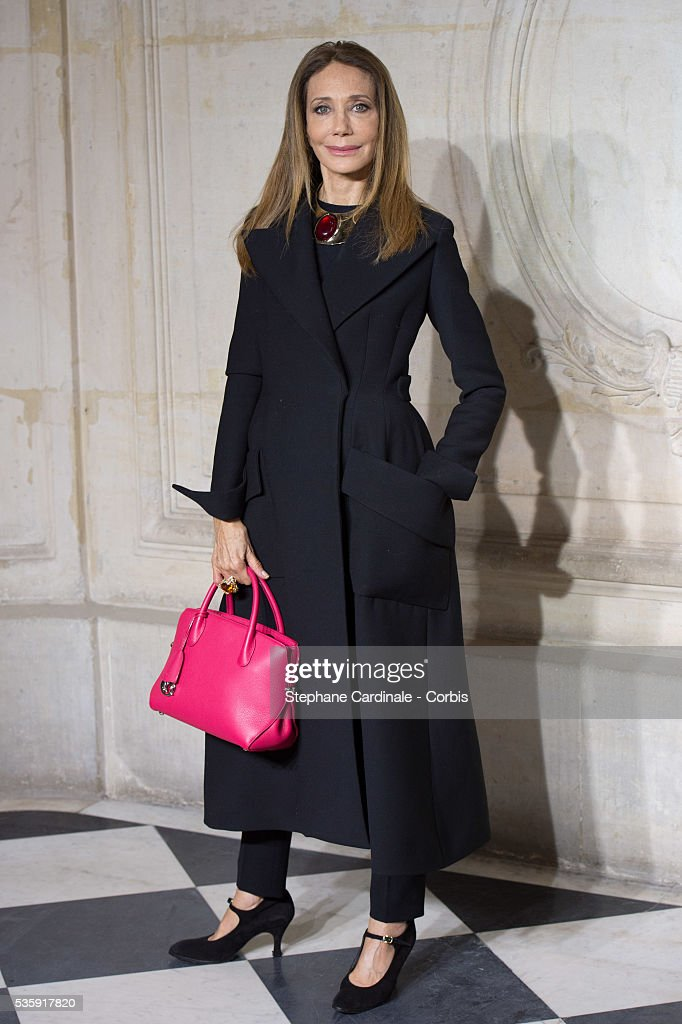 Marisa Berenson attends the Christian Dior show as part of Paris Fashion Week Haute Couture Spring/Summer 2014, in Paris.