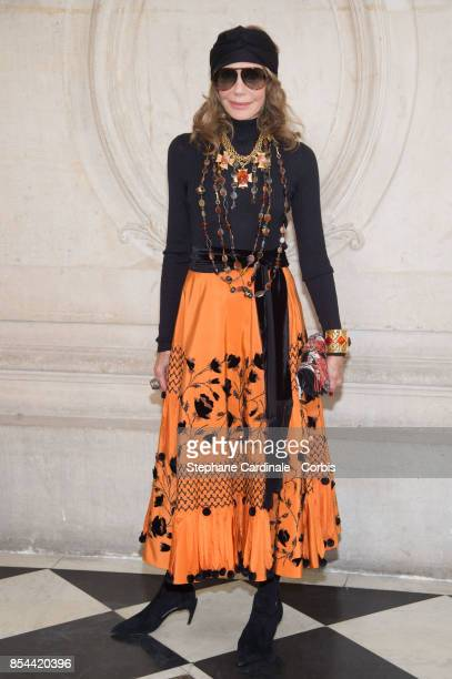 Marisa Berenson attends the Christian Dior show as part of the Paris Fashion Week Womenswear Spring/Summer 2018 at on September 26, 2017 in Paris,...
