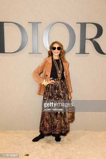 Marisa Berenson attends the Christian Dior Womenswear Spring/Summer 2020 show as part of Paris Fashion Week on September 24, 2019 in Paris, France.