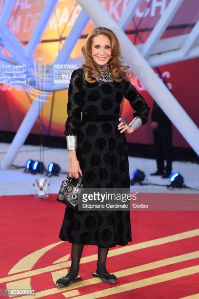 Marisa Berenson attends the opening ceremony during the 18th Marrakech International Film Festival on November 29, 2019 in Marrakech, Morocco.