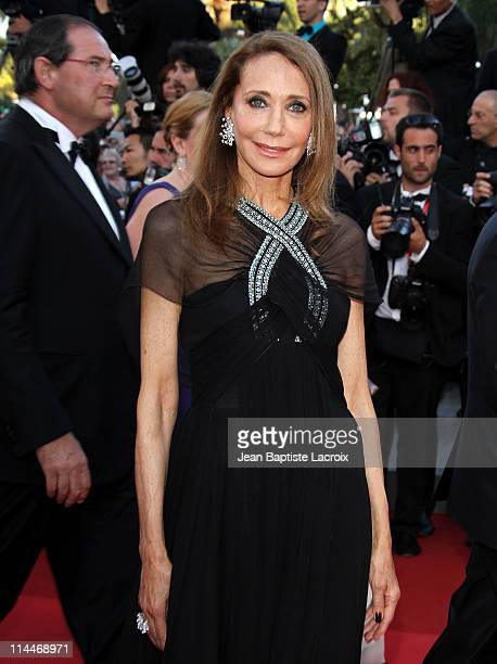 Marisa Berenson attends the 'This Must Be The Place' Premiere during the 64th Cannes Film Festival at Palais des Festivals on May 20 2011 in Cannes...