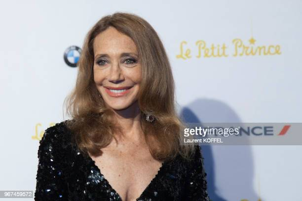 Marisa Berenson lors de la première du film 'Le Petit Prince' pendant le 68eme Festival du Film Annuel au Palais des Festivals le 22 mai 2015 Cannes...