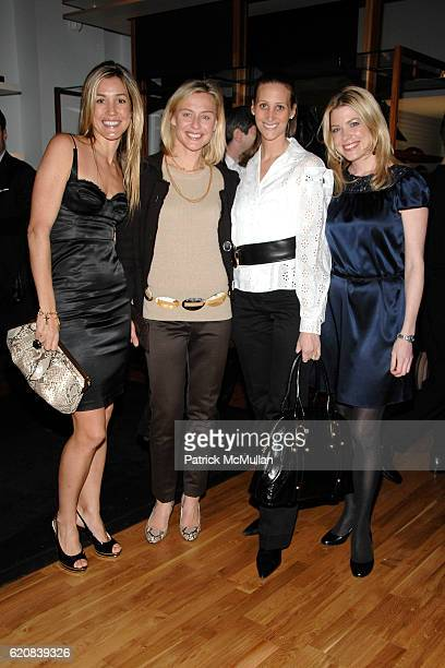 Marisa Brown Renee Rockefeller Stephanie Winston Wolkoff and Amy McFarland attend BALLY Cocktail Party Honoring BRIAN ATWOOD New Yorkers For Children...