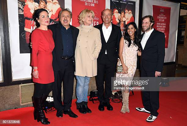 Marisa Burger Wolfgang Stumph Saskia Vester Heiner Lauterbach CollienUlmen Fernandes and Oliver Korittke attend the premiere of the film...
