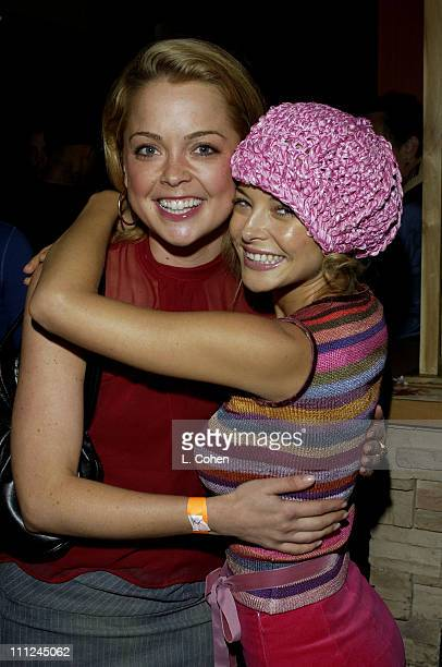 Marisa Coughlan and Jordan Ladd during Cabin Fever Premiere After Party in Hollywood California United States
