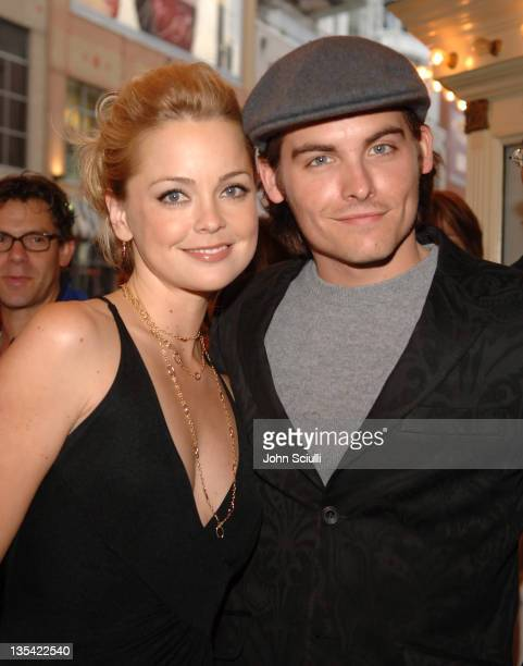 Marisa Coughlan and Kevin Zegers during 2005 Toronto Film Festival 'Transamerica' Premiere at Visa Screening Room in Toronto Canada