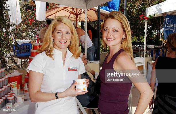 Marisa Coughlan during The Silver Spoon Beauty Buffet Sponsored By Allure at Private Residence in Hollywood California United States