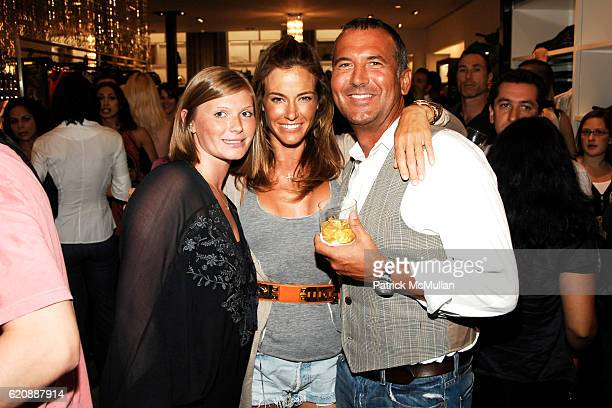Marisa Grimshaw Kelly Killoren Bensimon and Mike Egeck attend 7 FOR ALL MANKIND New York Flagship Boutique Opening with VOGUE and Photo Exhibition by...