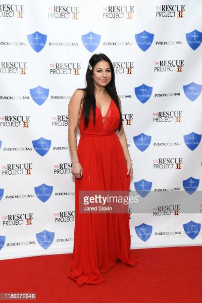 Marisa Hebert attends The 3rd Annual Vision 2020 Ball By The Rescue Project Haven Hands Inc Brought To You By AMAZZZING HUMANS at 4W43 on November 07...