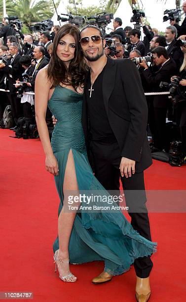 """Marisa Jara and Joaquin Cortes during 2006 Cannes Film Festival - """"Over The Hedge"""" - Premiere at Palais des Festival in Cannes, France."""