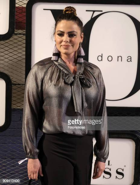 Marisa Jara attends the 'Yo Dona Fashion Party' at the Only You Hotel on January 23 2018 in Madrid Spain