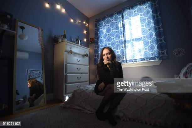 Marisa Licandro age 22 is seen at her home in Brooklyn NY She currently works as a server at Roman's restaurant When she was a student at Culinary...