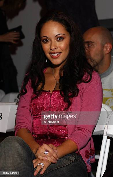 Marisa Macguire Ramirez during Jeremy Scott Spring/Summer 2003 Fashion Show 'Venus Rising' Arrivals and Seating at MOCA at the Geffen Contemporary...
