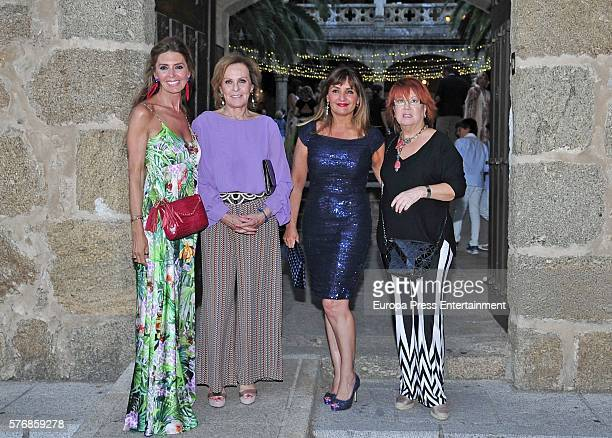 Marisa Martin Blazquez Paloma Barrientos Beatriz Cortazar and Rosa Villacastin attend the prewedding party of Alvaro Rojo and Ana Villarubia Alvaro...