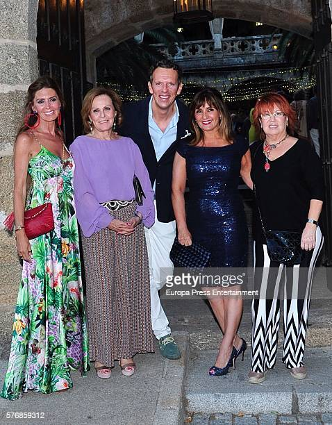 Marisa Martin Blazquez Paloma Barrientos Joaquin Prat Beatriz Cortazar and Rosa Villacastin attend the prewedding party of Alvaro Rojo and Ana...