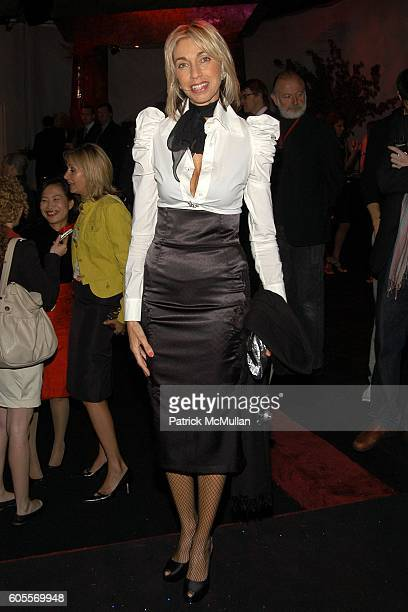Marisa Midolo attends SWAROVSKI hosts a party to present their POETIC NIGHT Collection at The Rink at Rockefeller Center on May 3 2006 in New York...