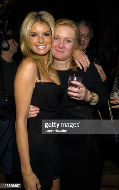 Marisa Miller and Diane Smith during 2004 Sports Illustrated Swimsuit Issue After Party Hosted by Pontiac GTO at Club Deep in New York City New York...