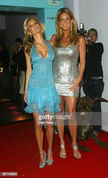 Marisa Miller and Rachel Hunter