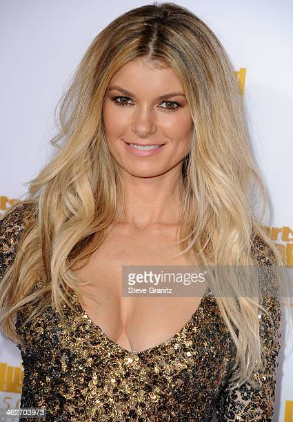 Marisa Miller arrives at the NBC And Time Inc 50th Anniversary Celebration Of Sports Illustrated Swimsuit Issue Hosted By Heidi Klum at Dolby Theatre...