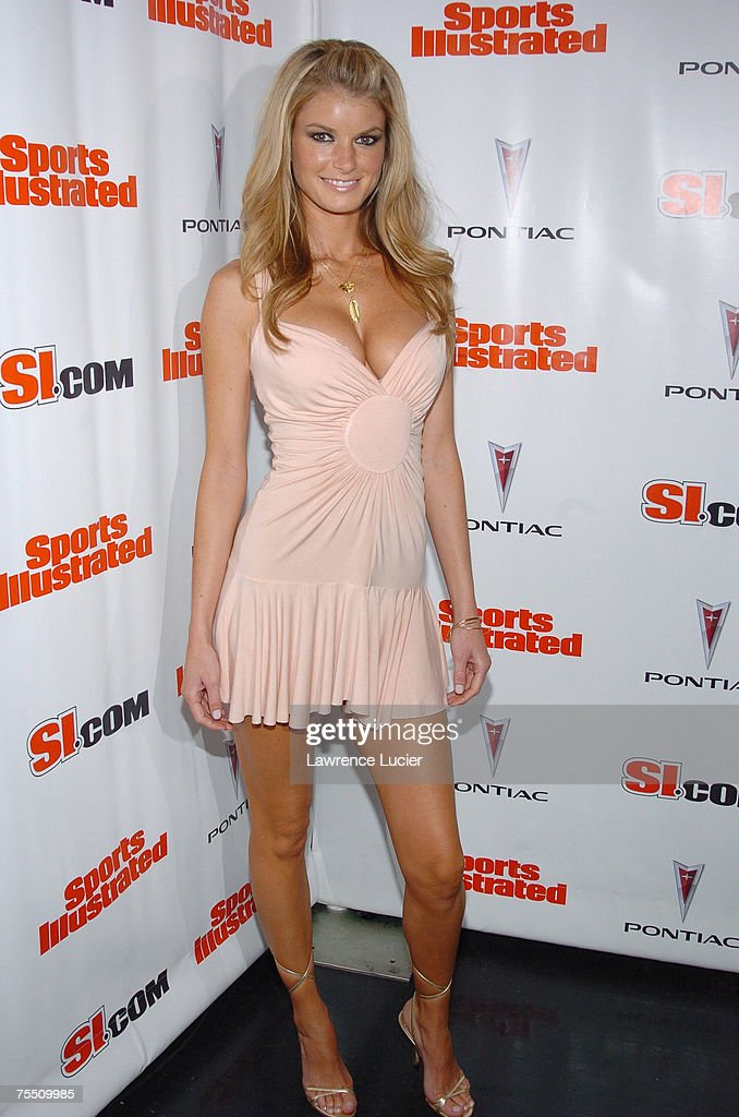 Marisa Miller at the Sports Illustrated 2005 Swimsuit Issue - Press Conference at AER Lounge in New York City, New York.