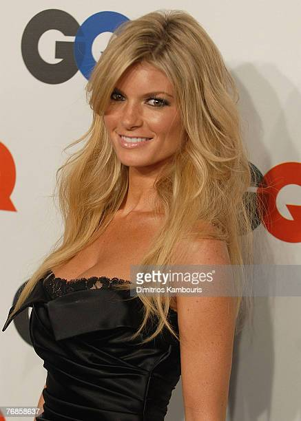 Marisa Miller attends the GQ Magazine 50th Anniversary Party at Cedar Lake on September 18 2007 in New York City