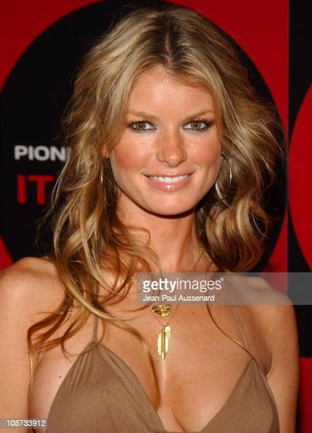 Marisa Miller during Pioneer Electronics Automotive Navigation Systems Launch Party Arrivals at Montmartre Lounge in Hollywood California United...