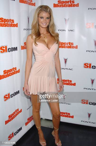 Marisa Miller during Sports Illustrated 2005 Swimsuit Issue Press Conference at AER Lounge in New York City New York United States