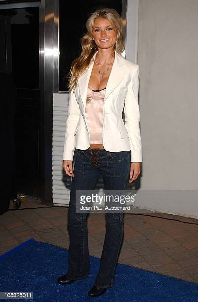 Marisa Miller during Surfrider Foundation 20th Anniversary Celebration Arrivals at Sony Pictures Studios in Culver City California United States