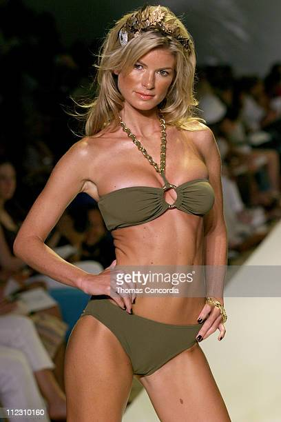 Marisa Miller wearing swimsuit made with Xtra Life LYCRA