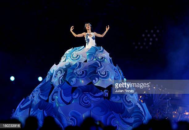 Marisa Monte performs during the Closing Ceremony on Day 16 of the London 2012 Olympic Games at Olympic Stadium on August 12 2012 in London England