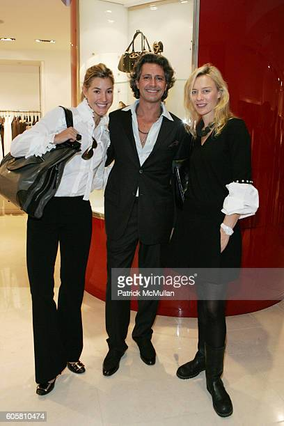 Marisa Noel Brown Carlos Souza and Renee Rockefeller attend Dominique Browning Editor of House and Garden and Valentinos Host a Luncheon in Honor of...