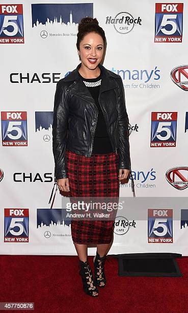 Marisa Ramirez attends a tribute to Nick Cannon benefiting St Mary's Healthcare System For Children at Hard Rock Cafe Times Square on October 23 2014...