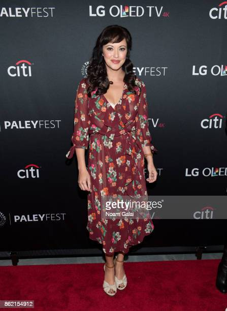 Marisa Ramirez attends the Blue Bloods screening during PaleyFest NY 2017 at The Paley Center for Media on October 16 2017 in New York City