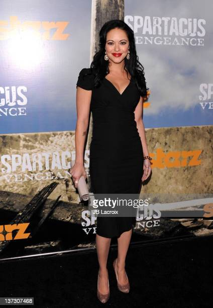 Marisa Ramirez attends the premiere of 'Spartacus Vengeance' at ArcLight Cinemas Cinerama Dome on January 18 2012 in Hollywood California