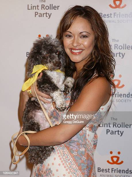 Marisa Ramirez during 2004 Annual Lint Roller Party at Hollywood Athletic Club in Hollywood California United States