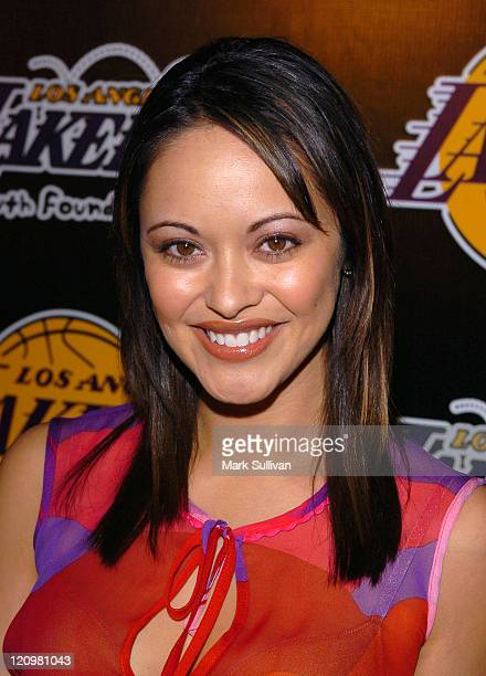 Marisa Ramirez during 2nd Annual Lakers Casino Night Benefiting the Lakers Youth Foundation Arrivals at Barker Hanger in Santa Monica California...