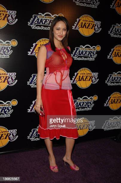 Marisa Ramirez during 2nd Annual Lakers Casino Night Benefiting the Lakers Youth Foundation Red Carpet and Inside at Barker Hanger in Santa Monica...