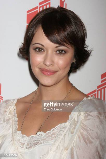 Marisa Ramirez during Gen Art Presents the Los Angeles Fashion Design Debut of Jovovich Hawk at Stoli Hotel in Hollywood California United States