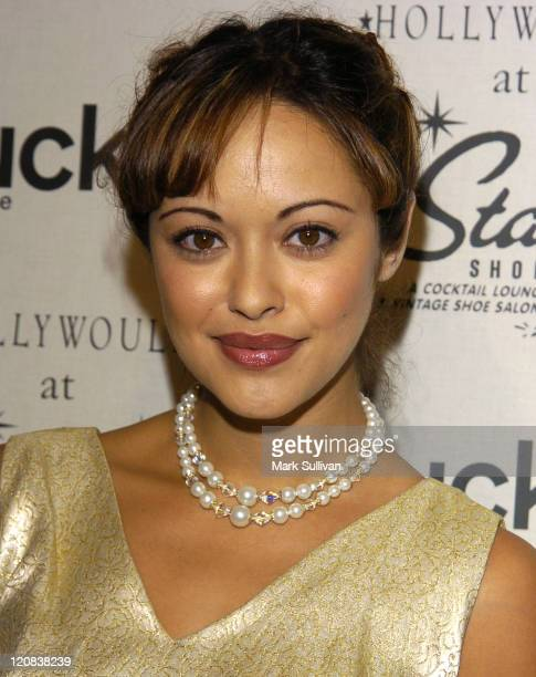 Marisa Ramirez during Lucky Magazine Host Party for Hollywould Shoes at Star Shoes Arrivals at Star Shoes in Hollywood California United States
