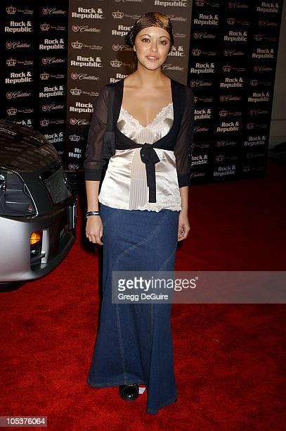 Marisa Ramirez during MercedesBenz Spring 2005 LA Fashion Week at Smashbox Studios Cadillac Presents Rock Republic Spring 2005 Fashion Show Arrivals...