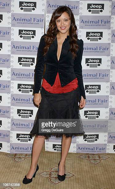 Marisa Ramirez during The Jeep Yappy Hour and Febreze Pet Fashion Show sponsored by GW Little Arrivals at Century Plaza Hotel in Century City...